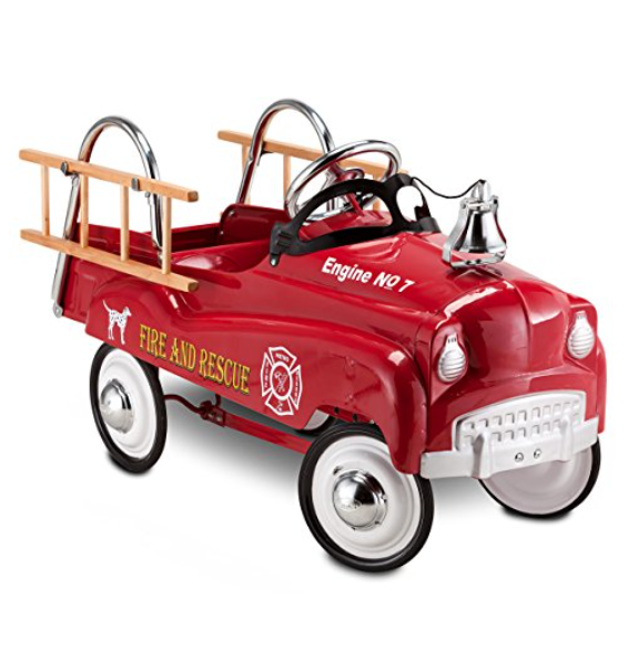 InStep Fire Truck Pedal Car