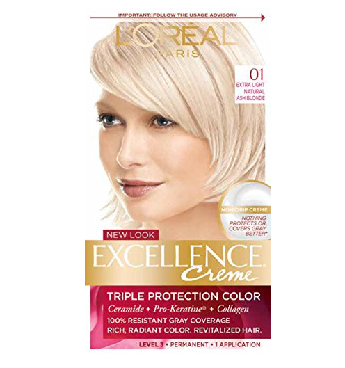 L'Oreal Paris Excellence Crème Hair Dye – Available in 56 Colors & 2 Styles