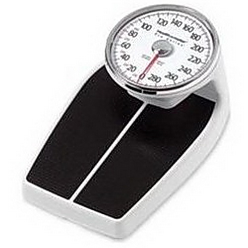 Health o Meter Mechanical Floor Scale w/ Large Footprint Area, 400 lbs Capacity, 3 Sizes Available