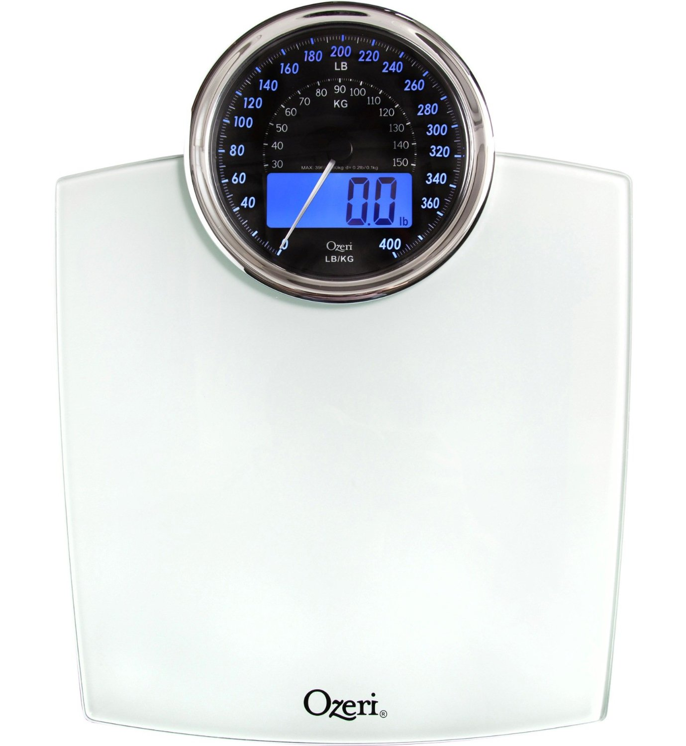 Ozeri Digital & Analog Bathroom Scale