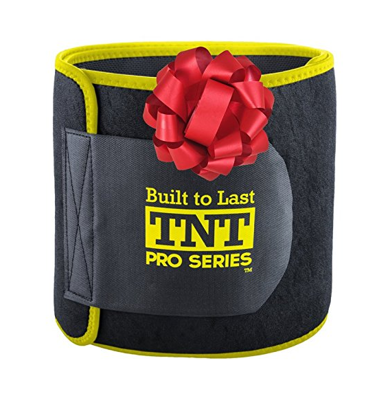 TNT Pro Series Premium Stomach Wrap and Waist Trimmer Weight Loss Ab Belt – Available in 9 Sizes & 2 Colors