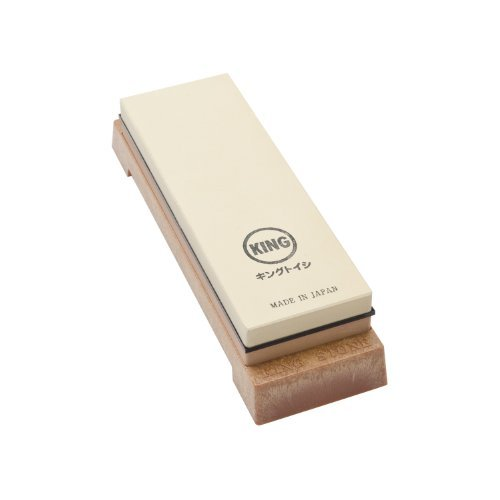 King Sharpening Stone with Base