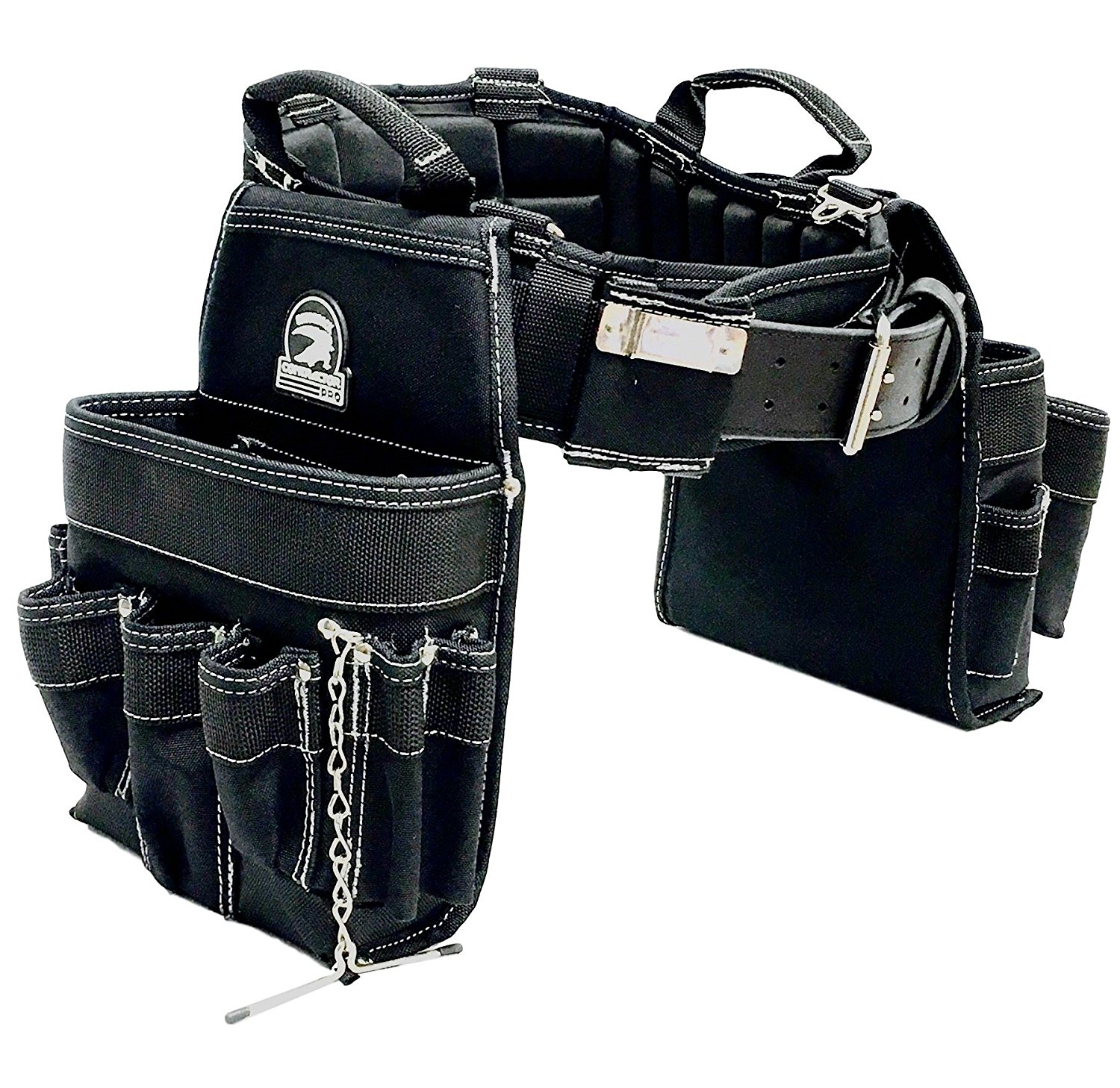TradeGear Electrician's Tool Belt & Bag Combo - Partnered with Gatorback Contractor Pro– Available in 5 Sizes