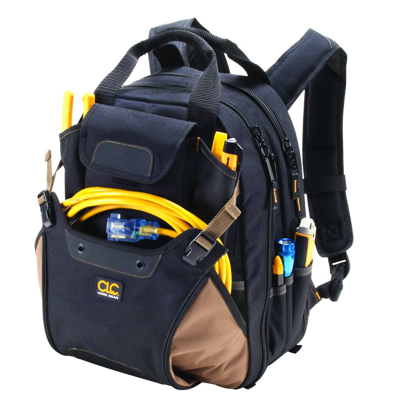 Custom Leathercraft Tool Backpack with 2 Main Zipper Compartments – Available in 2 Styles