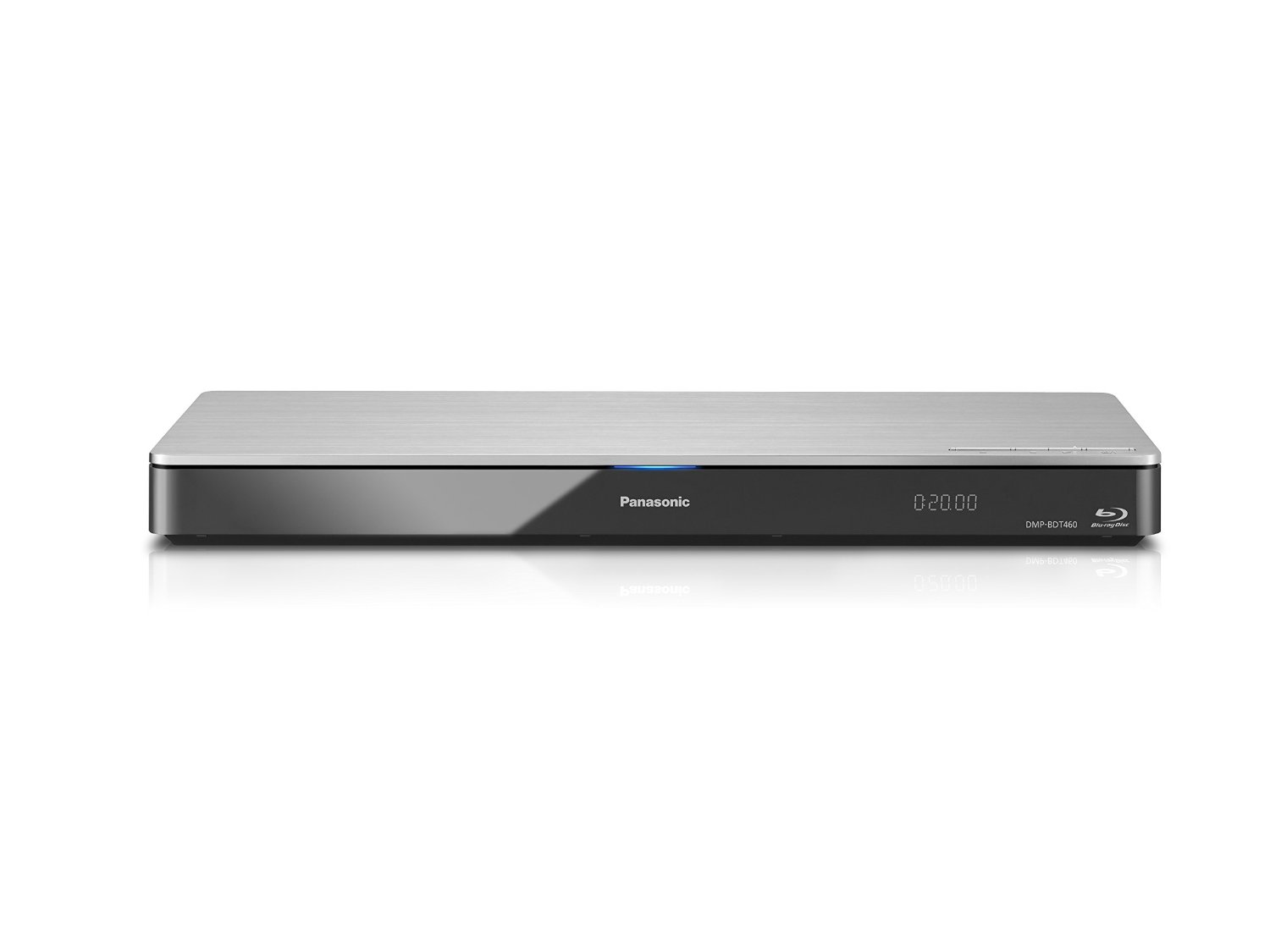 Panasonic DMP-BDT460 Smart Network 4K Upscaling 3D Blu-Ray Disc and Streaming Player -  WiFi, Twin HDMI, Miracast for Smartphone
