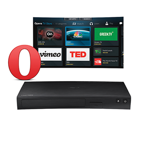 Samsung BD-J5700ZA Curved Blu-Ray DVD Player