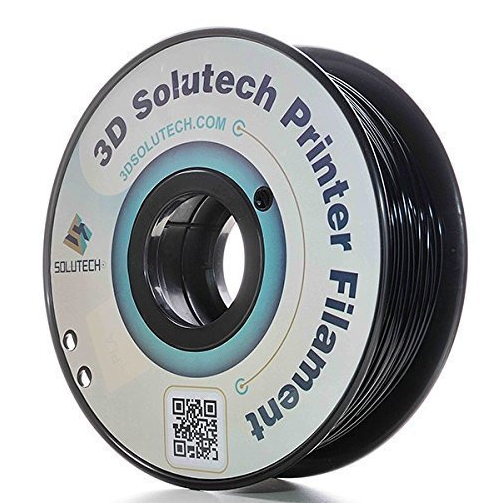 3D Solutech Black 3D Printer PLA Filament