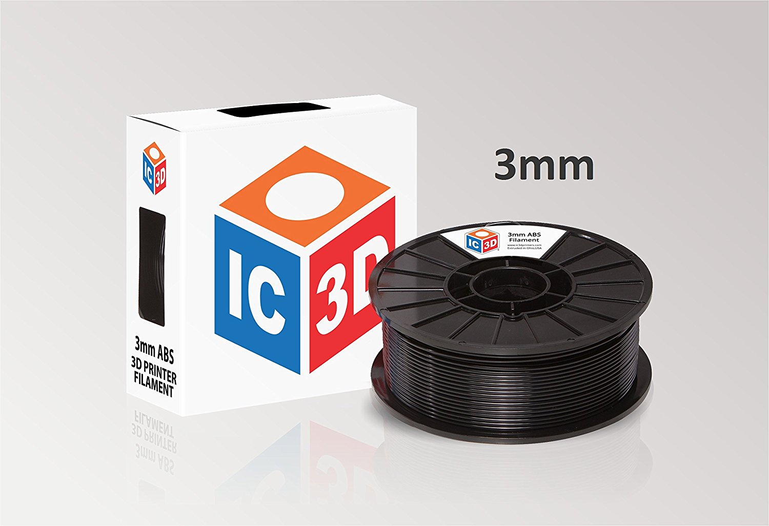 IC3D ABS 3D Printer Filament