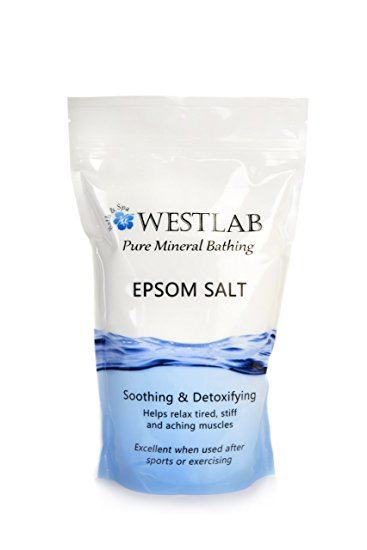 Westlab Pure Mineral Bathing Epsom Salt - Available in Multiple Pack Sizes