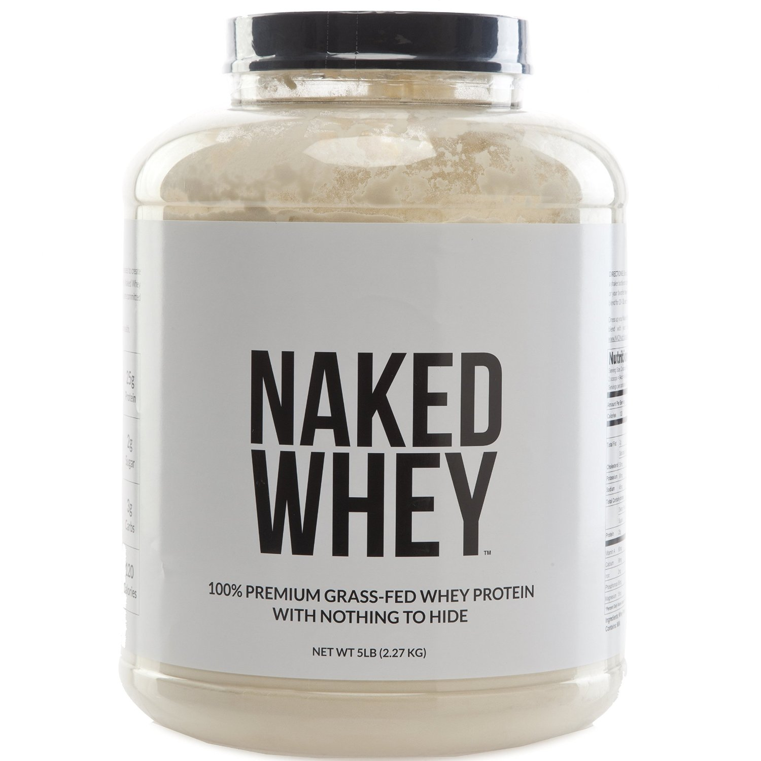 Naked Nutrition Grass Fed Whey Protein Powder