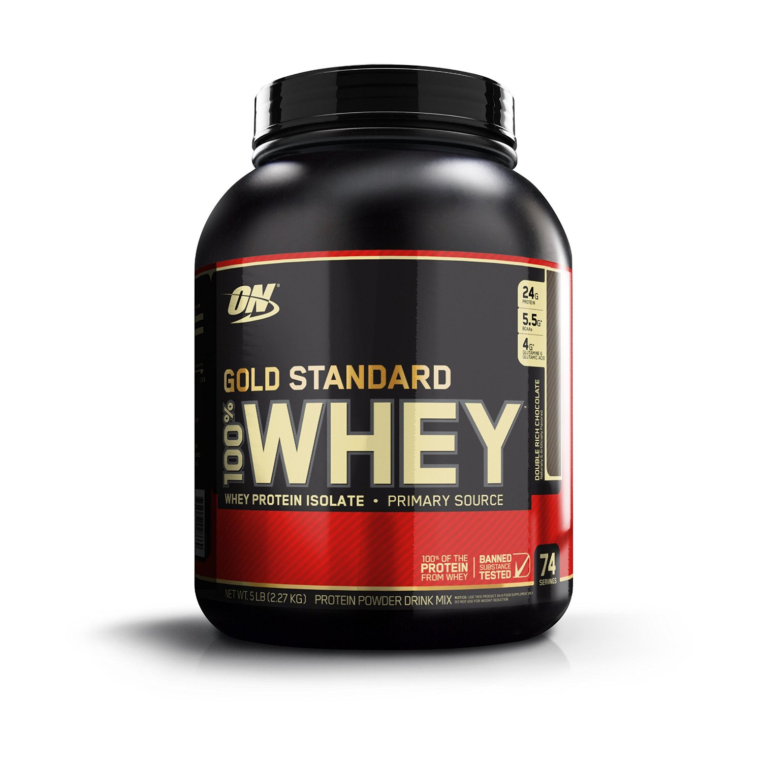 Optimum Nutrition 100% Whey Gold Standard Protein Powder - Multiple Sizes and Flavors