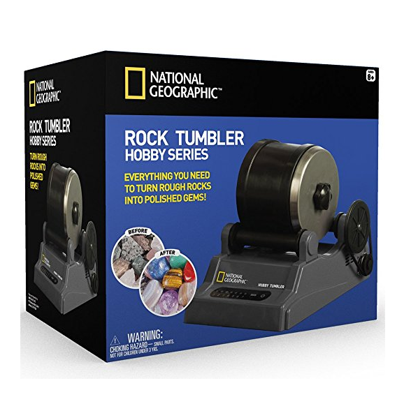 National Geographic Rock Tumbler Kit