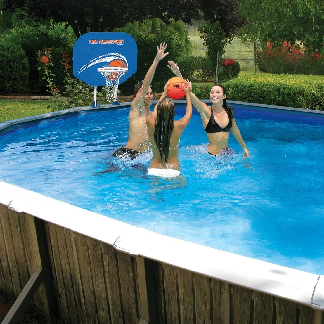 Poolmaster Basketball & Volleyball Game