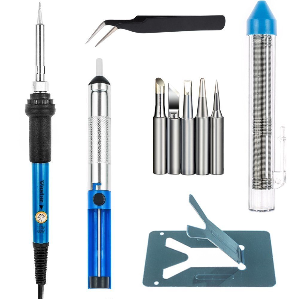 Vastar Adjustable Temp Soldering Iron