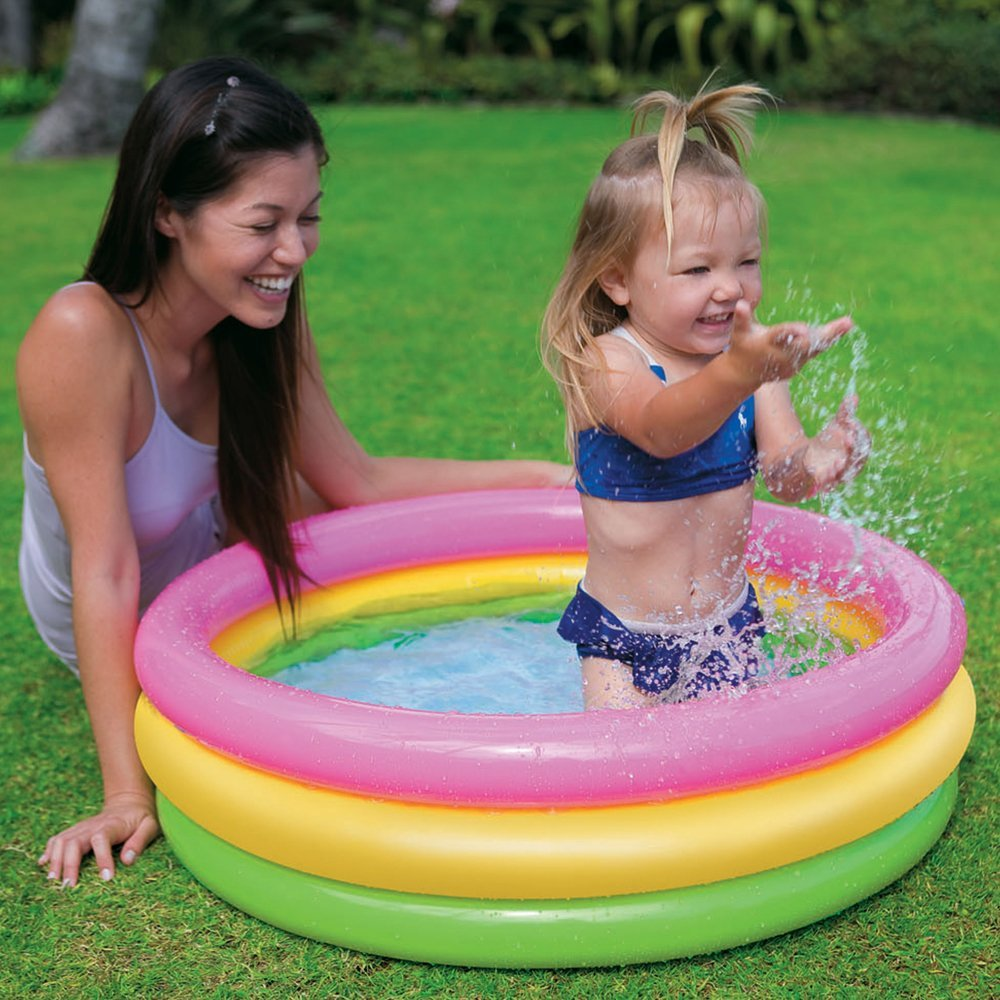 BOS Sunset Glow Inflatable Pool