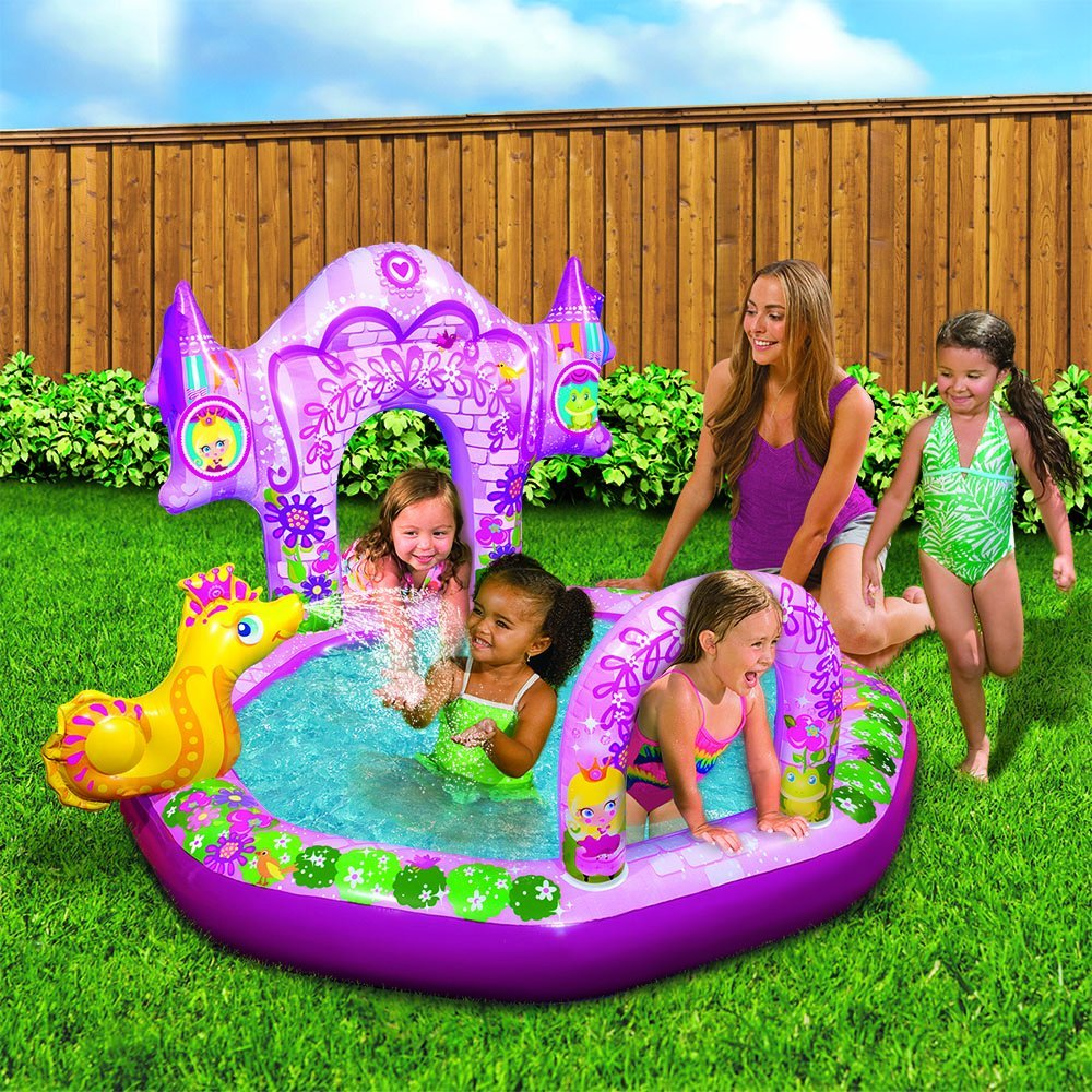 Banzai Enchanted Castle Inflatable Pool