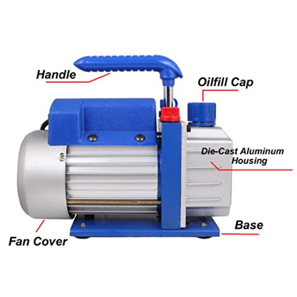TMS Single-Stage Rotary Vacuum Pump