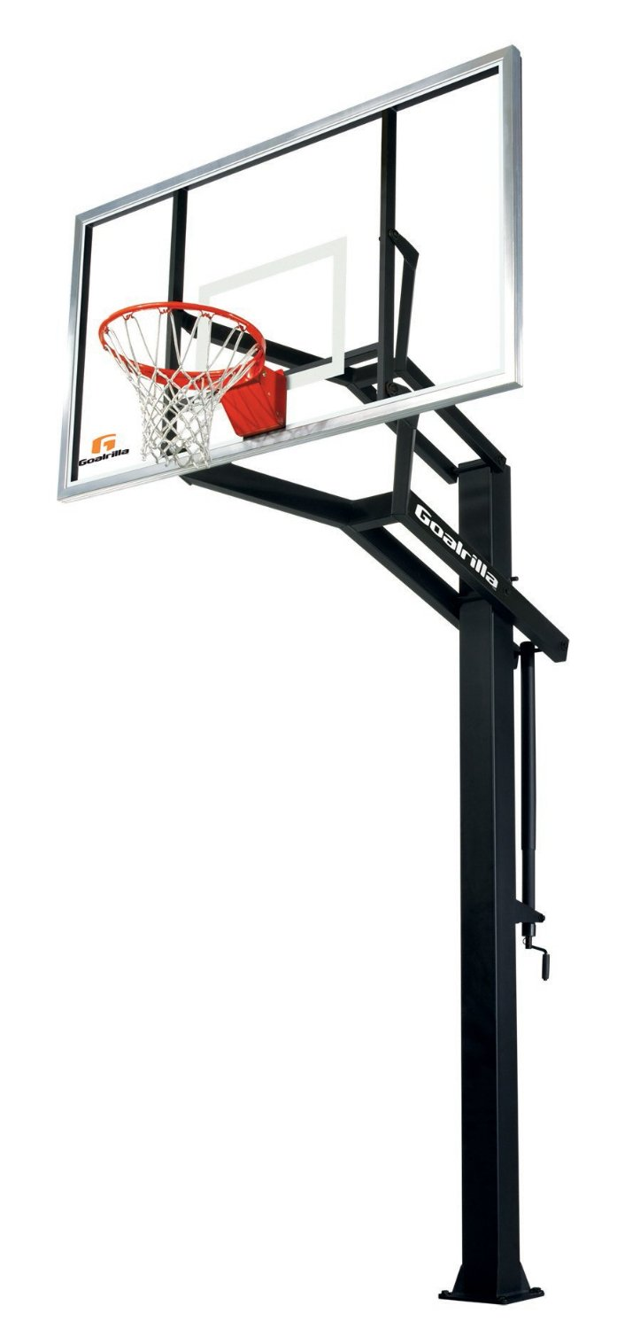 Goalrilla GSI In-Ground Basketball Hoop System – 3 Backboard Sizes