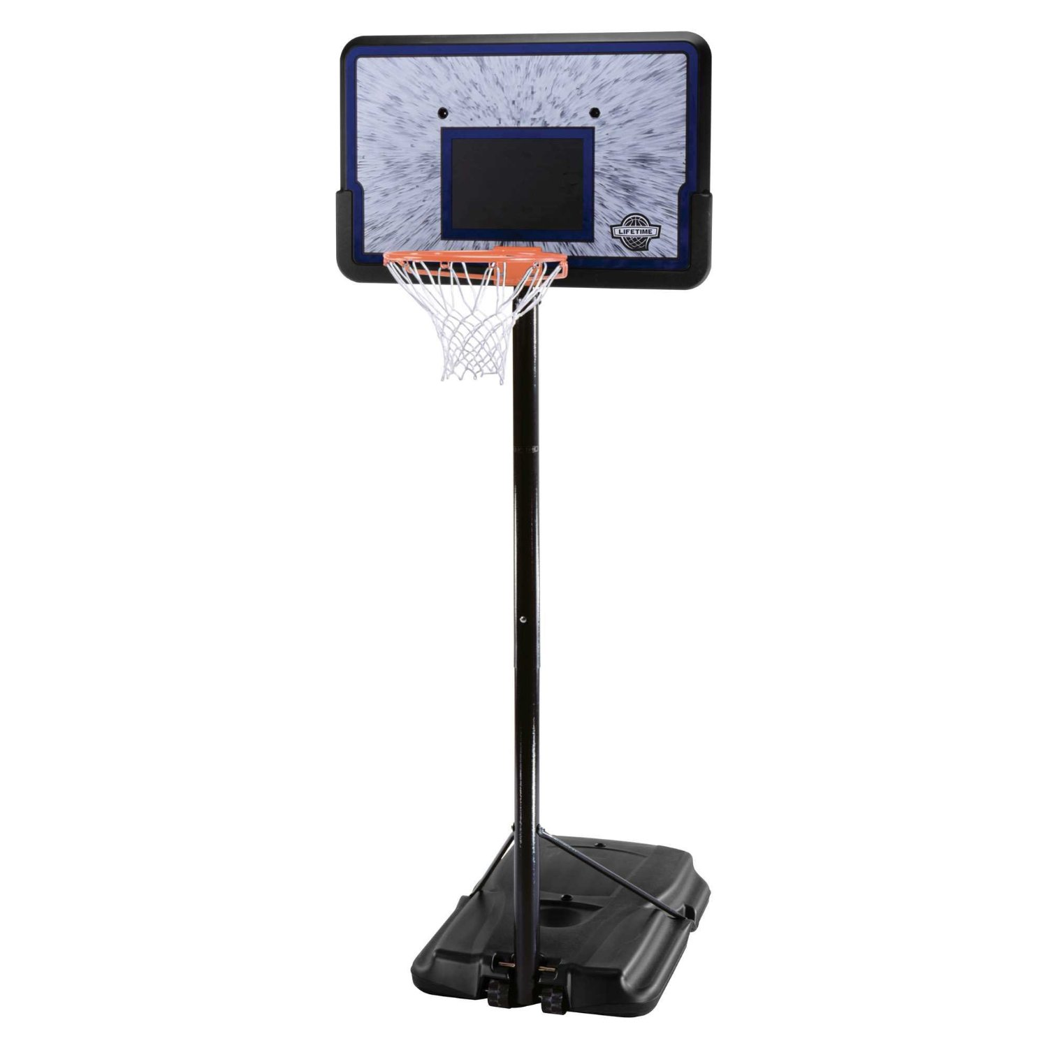 "Lifetime Pro Court Portable Basketball Hoop w/ 44"" Backboard"