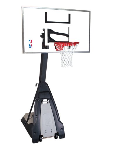 "Spalding Portable Basketball System with 60"" Acrylic Backboard"