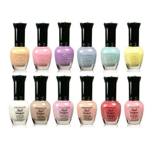 Kleancolor Nail Lacquer Polish Set
