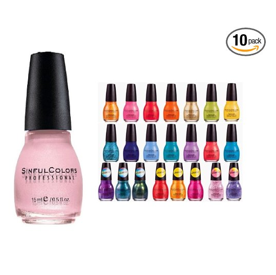 SinfulColors Surprise Nail Polish Set