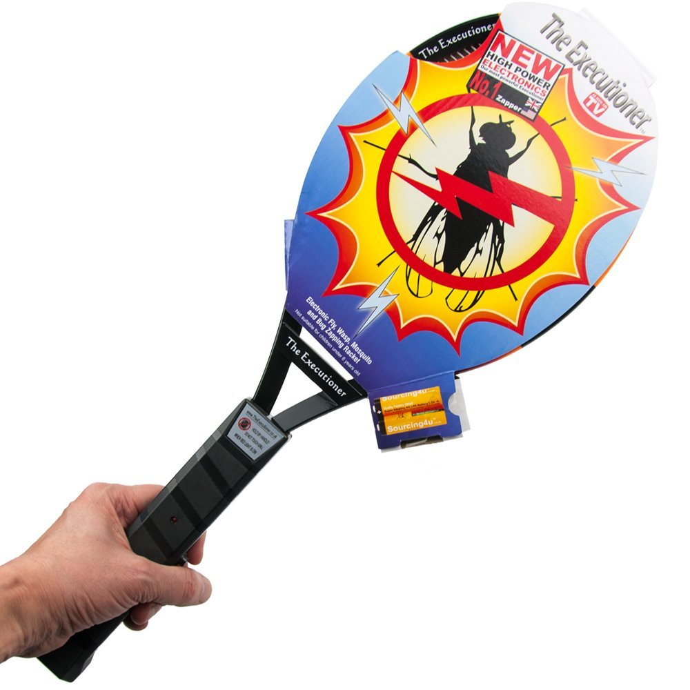 Sourcing4U Limited The Executioner Bug Zapper – Good for Flies, Wasps, Mosquitoes and Bugs, 1 Year Warranty