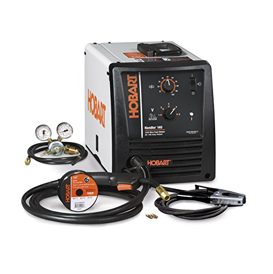Hobart Handler® 140 MIG Wire Welder – Also Available with Accessories