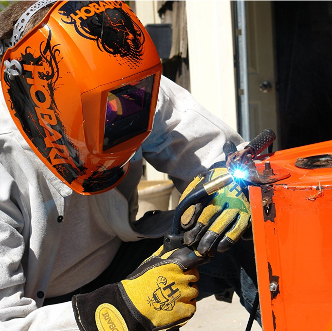 Hobart Agent Orange™ Welding Helmet