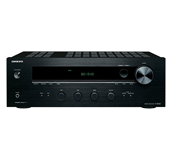 Onkyo TX-8020 Stereo Receiver – Available With or Without Expert Setup