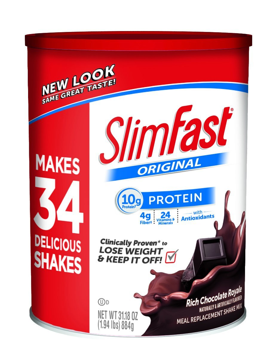 Slimfast Meal Replacement Shake Mixes