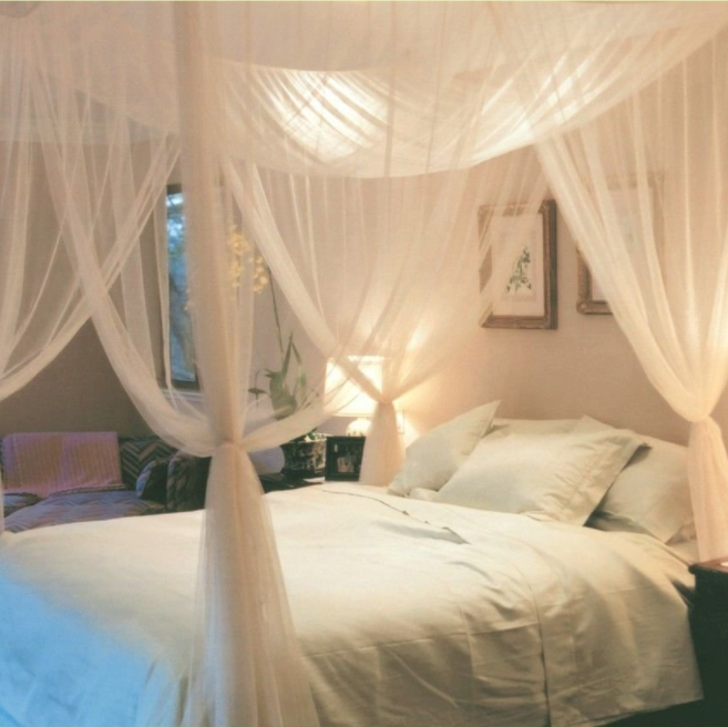 Super buy Four-Post Bed Canopy