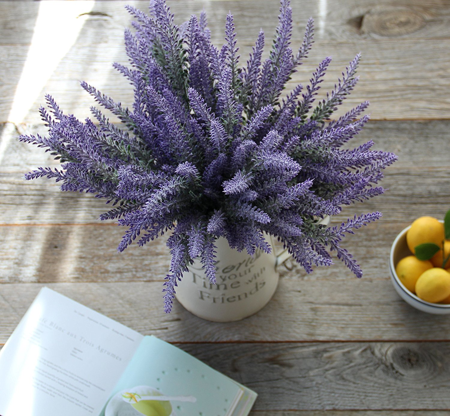Heart to Heart Lavender Bouquet Artificial Flower