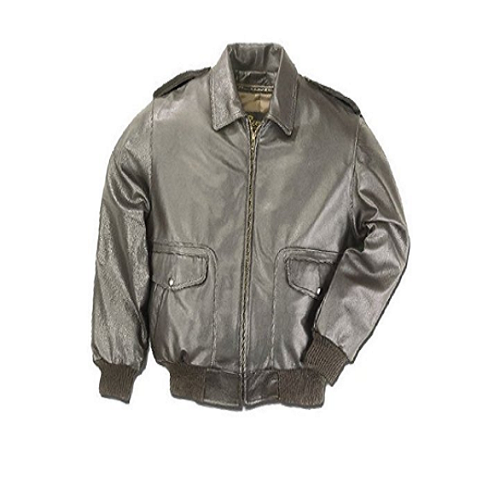 Reed All American Leather Bomber Jacket