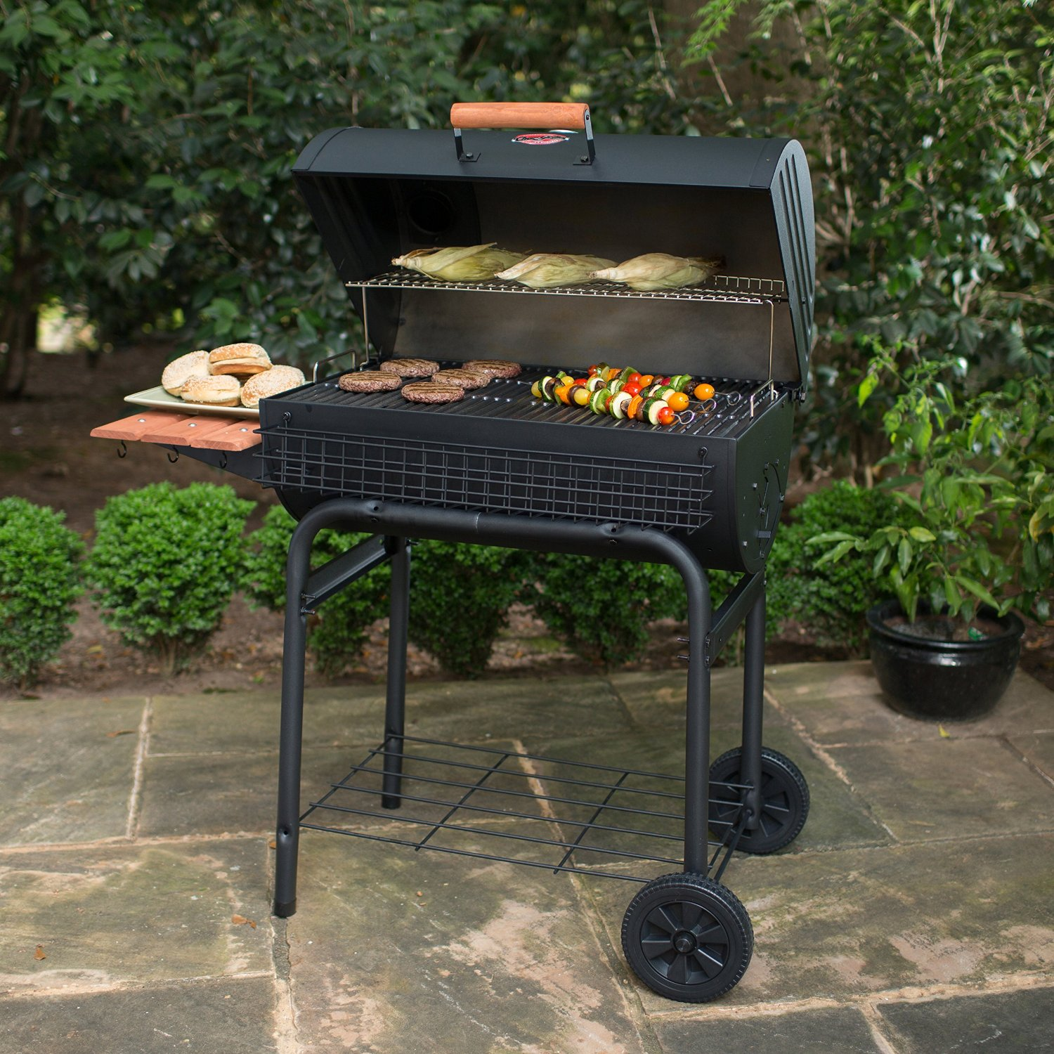 Char-Griller Deluxe Griller Portable Charcoal Grill