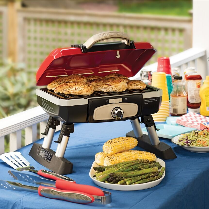 Cuisinart Petite Gourmet Tabletop Gas Grill