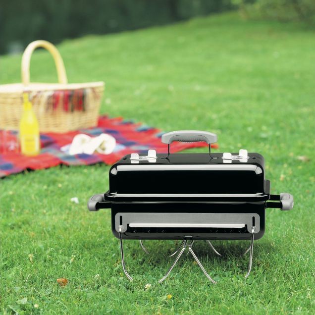 Weber Go-Anywhere Charcoal for Camping, Tailgating and More