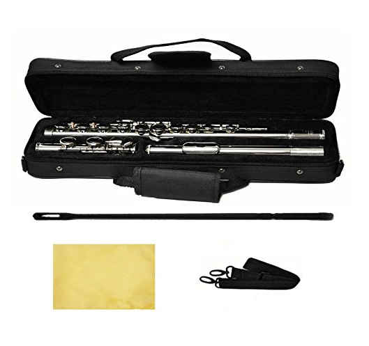 Hallelu Music Nickel Plated Flute