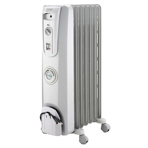 DeLonghi Safe Heat 1500W Portable Oil-Filled Radiator with ComforTemp Feature