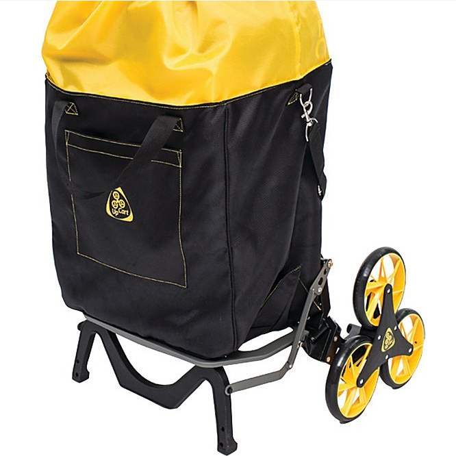 UpCart Stair Climbing Folding Cart with Bag