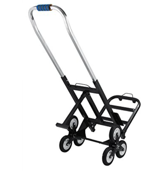 VEVOR All Terrain Portable Stair Climbing Cart with a 330lbs Capacity – Also Available with 2 Backup Wheels