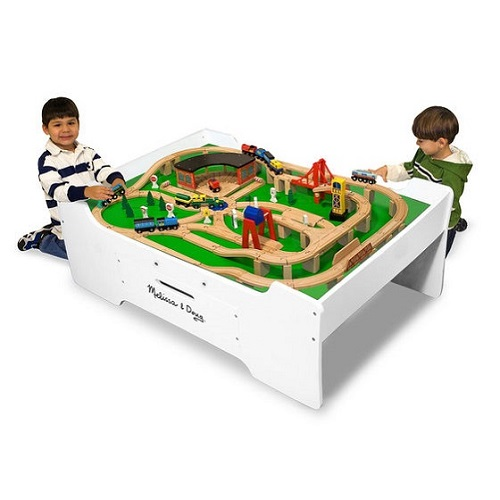 Melissa & Doug Activity Train Table