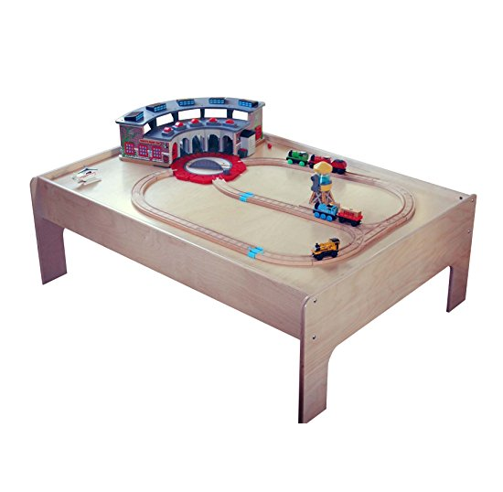 Sodura Sturdy Birch Wood Kids Train Table