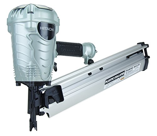Hitachi 2-Inch to 3-1/2-Inch Plastic Collated Framing Nailer – Also Available with Brad Nailer