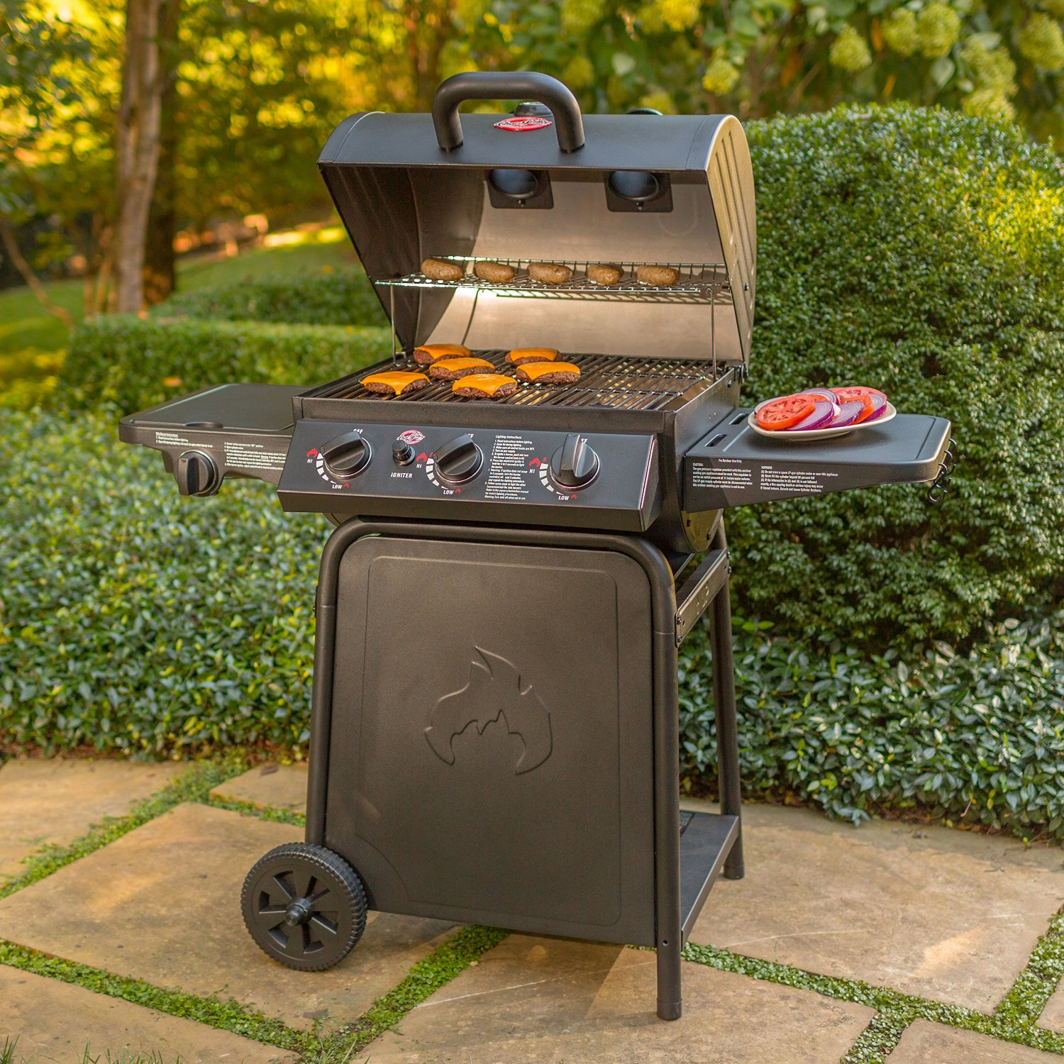 Char-Broil Traditional 4 Burner Gas Grill