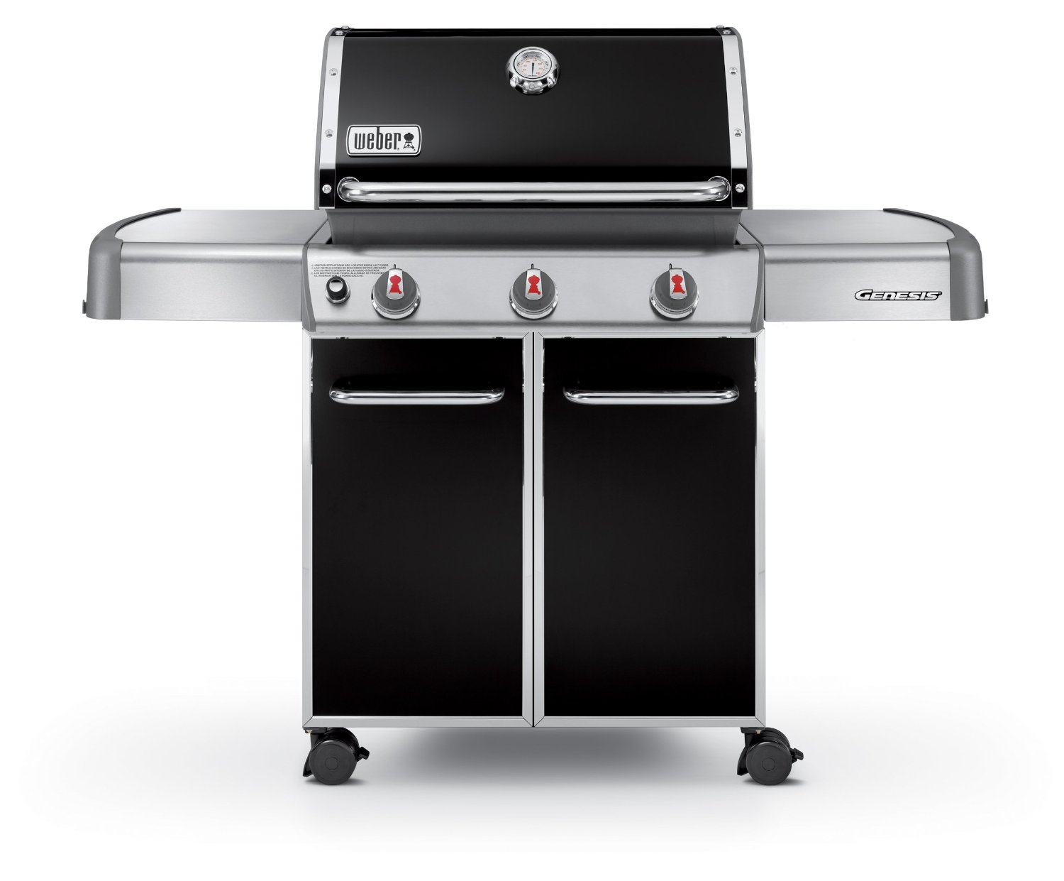 Weber Liquid-Propane Gas Grill - 637-Square-Inch, 38,000-BTU w/ 3 Stainless-Steel Burners