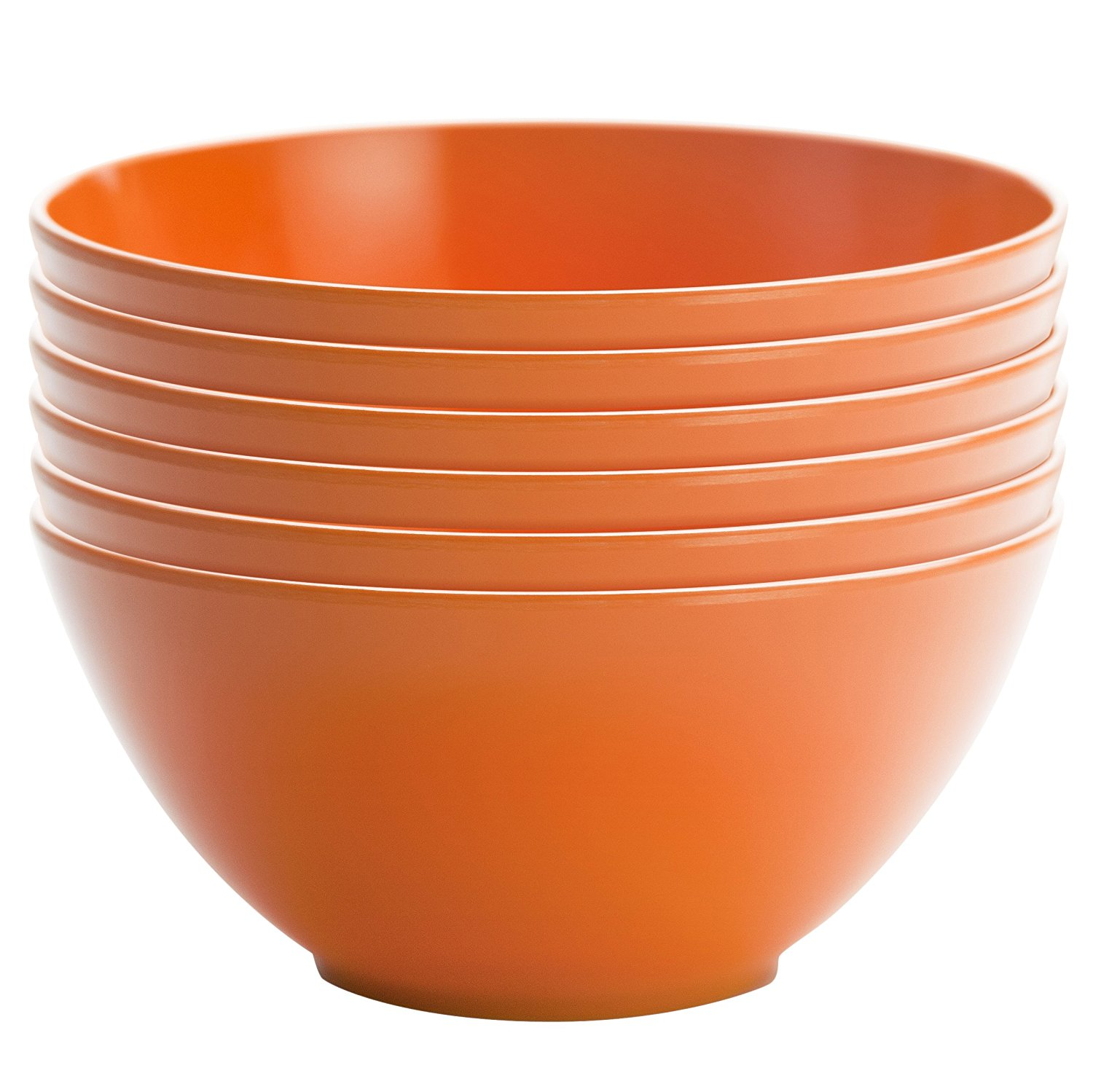 Zak Design Set of 6 Ella Individual Bowls – Available in 8 Colors