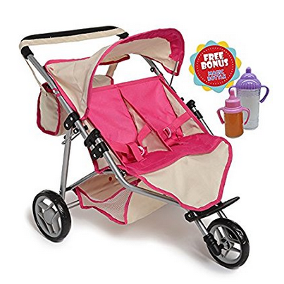 Exquisite Buggy Twin Doll Jogger Stroller