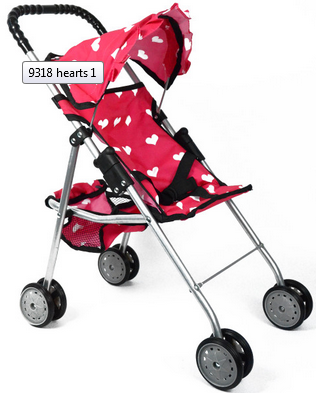 The New York Doll Co. First Doll Stroller