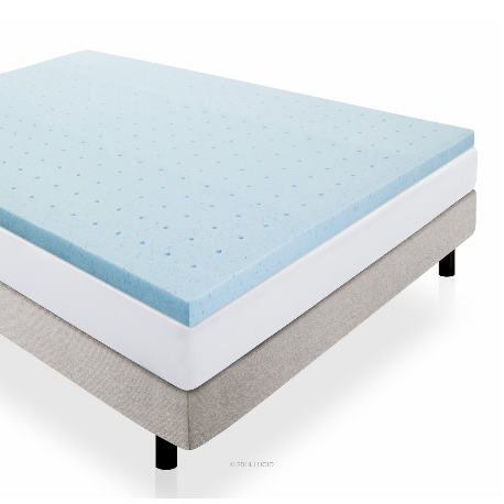 Lucid Memory Foam Gel Mattress Topper